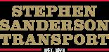 Stephen Sanderson Transport EST. 1973