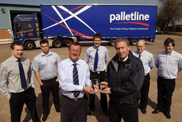 Stephen Sanderson Transport Ltd wins Delivery Depot of the Year Award