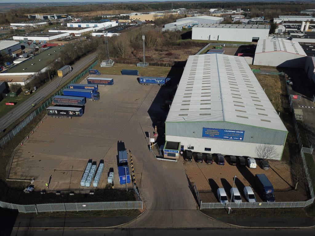 Stephen Sanderson Transport Ltd Opens New Site in Corby