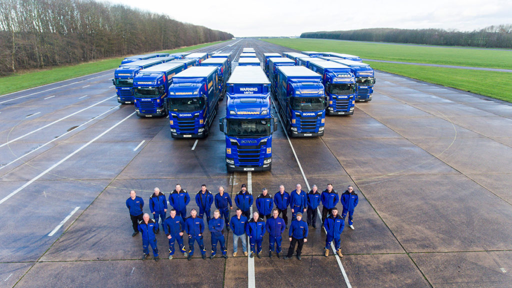 Sanderson and Hörmann celebrate 40 years of working in partnership together